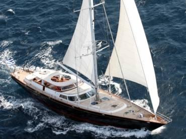 Яхта Gitana — праздник c комфортом под парусами