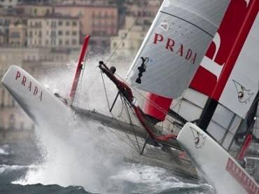 Итальянская команда Luna Rossa продолжает подготовку к Americas Cup