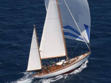 23 метровая классическая яхта для особенных регат