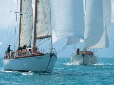 Регата классических яхт в Италии