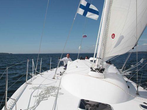 Восток — новая спортивная яхта