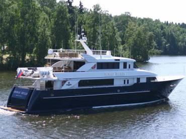 «Новая звезда» — яхта класса люкс в России
